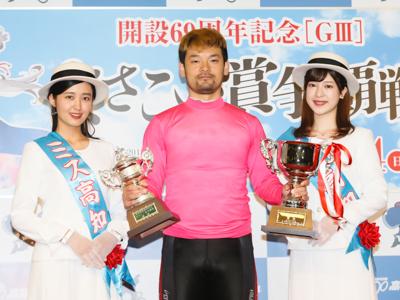 優勝者の写真です