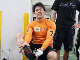 選手の写真です。